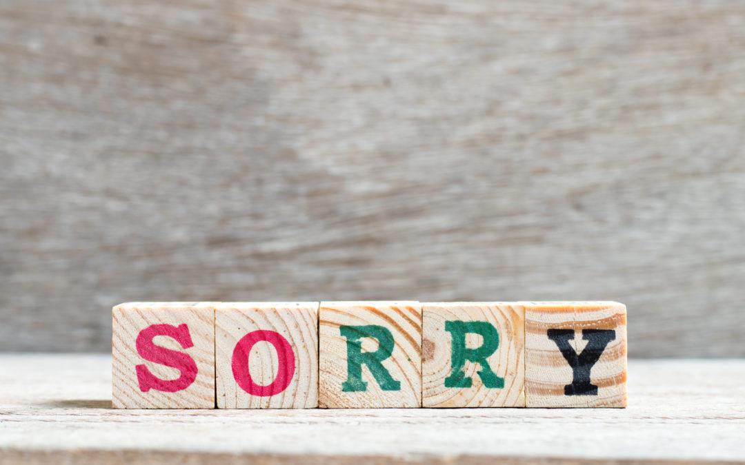 Six-Step Apology